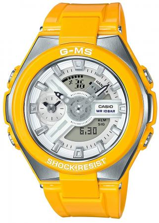 CASIO Baby-G G-MS MSG-400-9AJF Ladies Yellow