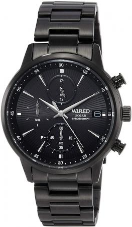SEIKO WIRED Solar Charging Chronograph  Men's AGAD409