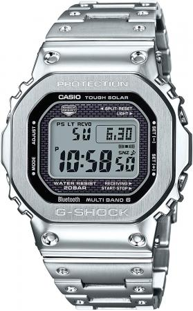 CASIO G-SHOCK Bluetooth equipped radio wave solar GMW-B5000D-1JF Men's Silver
