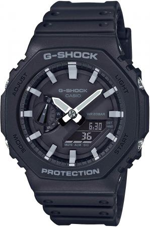 CASIO G-SHOCK Carbon Core Guard GA-2100-1AJF Men's Black