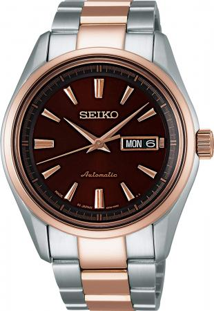 SEIKO Watch Presage Mechanical Automatic (with manual winding) Sapphire glass SARY056 Silver