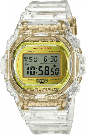 CASIO G-SHOCK GLACIER GOLD DW-5735E-7JR Men's Clear