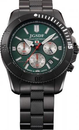 KENTEX JSDF PRO JGSDF Professional Model Chronograph S690M-01 Black