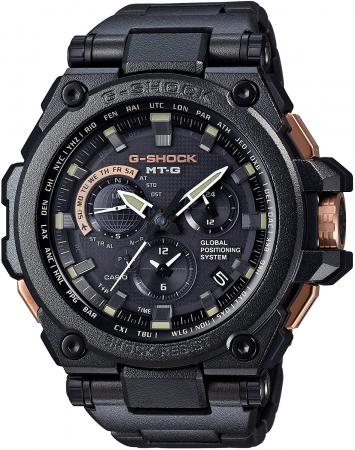 CASIO G-SHOCK MTG GPS hybrid electric wave solar MTG-G1000RB-1AJF black