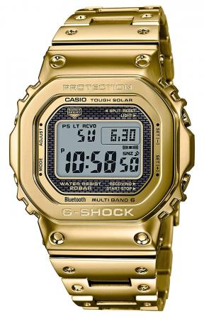 CASIO G-SHOCK 35th Anniversary Limited Edition Bluetooth powered radio solar GMW-B5000TFG-9JR Men's Gold