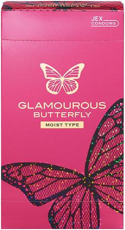 Glamorous Butterfly Moist type 12 pieces
