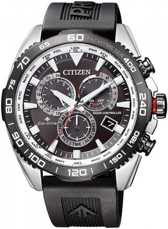 CITIZEN PROMASTER LAND series Eco-Drive radio clock direct flight CB5036-10X men