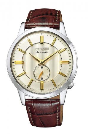 Citizen Collection Mechanical Classical Line Small Second NK5000-12P Men's Brown