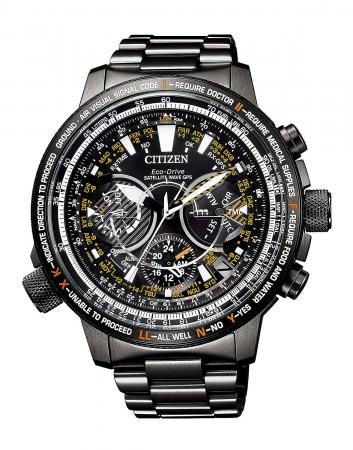 Citizen Promaster Eco Drive GPS Satellite Radio Clock F990 SKY Series 30th Limited Model World Limited 1,989 CC7015-55E Men's Black