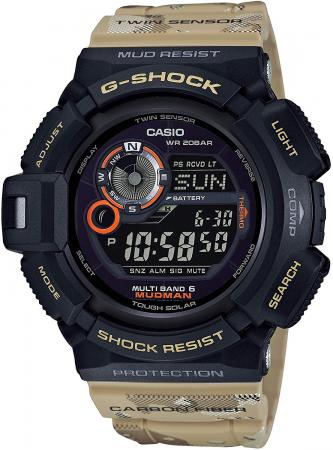 CASIO G-SHOCK Master in Desert Camouflage Madman Radio station solar GW-9300DC-1JF beige for the world 6 stations