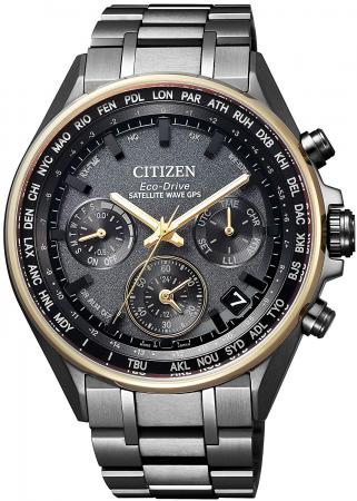 ATTESA Eco-Drive Radio Clock Chronograph CC4004-58F Men's