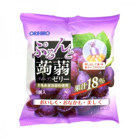 Konjac Jelly, Grape[pantry]