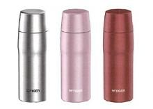 Stainless Steel Bottle with Tiger Cup MJD-A036P (Pink) Made in Japan