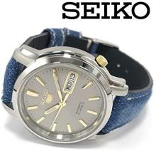 SEIKO 5 SEIKO Five Men'sWatch SNKK67K1 Self-winding Analog Day-Date Calendar Okayama Denim Collaboration Limited Edition