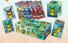 Pokemon card game XY BREAK Special BOX Rayquaza Pikachu wearing a poncho