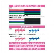 Mitsubishi water-based pen Poskarame containing extra fine 7 colors PC1ML7C