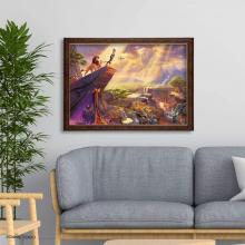 1000Pieces Puzzle Thomas Kinkade The Lion King Special Art Collection (51x73.5cm)