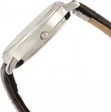 CITIZEN Q&Q Standard Analog Leather Belt Date Day of Week Display White A202-304 Men