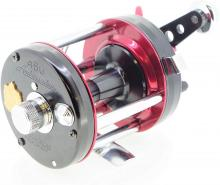 Abu Garcia Reel Ambassador 6500 CS ROCKET Black / Red High-Speed.