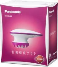 Panasonic Electric Scalp Brush Sound Wave Vibration Cleansing Type Vivid Pink EH-HM27-VP