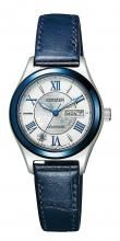 "Citizen Collection Mechanical Ladies Limited Model ""Miyuki"" World Limited 2,500 PD7165-65A Silver"