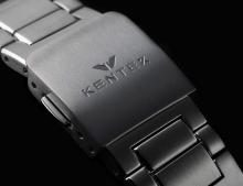 KENTEX Craftsman Prestige Mechanical self-winding Date Titanium S526X-08 Men's Silver