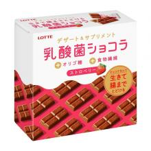 [Wagon Sale] Lotte Lactic Acid Bacteria Chocolat Strawberry Chocolate Sweets x 3 [pantry]