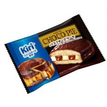 Lotte Chocopie (Basque Cheese Cake) Sold Individually Chocolate Sweets x 6 [pantry]